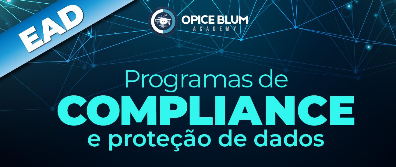 Programas de compliance e proteção de dados - EAD