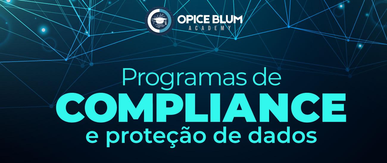 Programas de compliance e proteção de dados