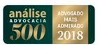 Análise Advocacia 500 - Advogado Mais Admirado 2018