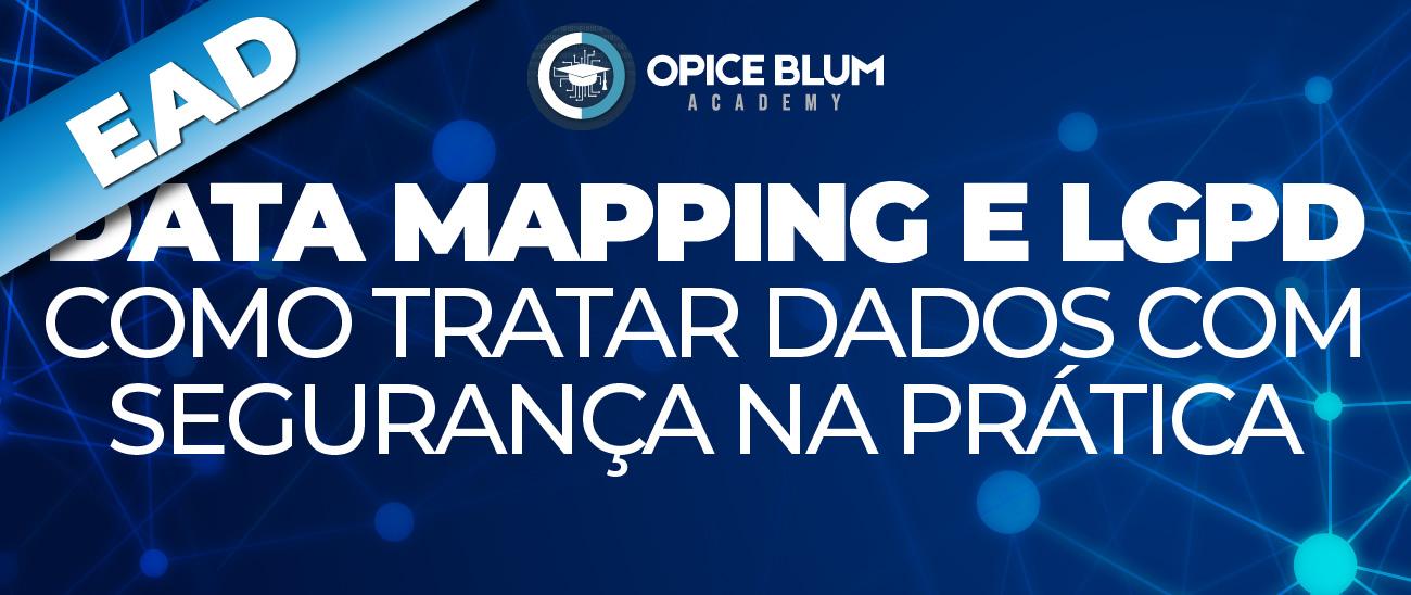 Data mapping e LGPD - Como tratar dados com segurança na prática - EAD