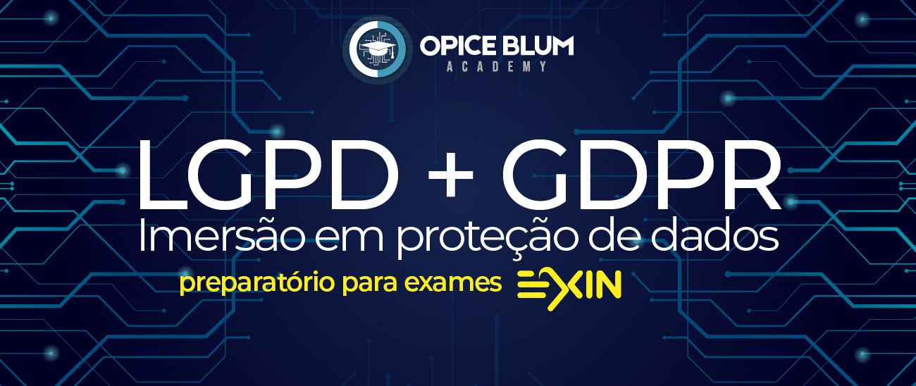 LGPD + GDPR: Imersão em proteção de dados