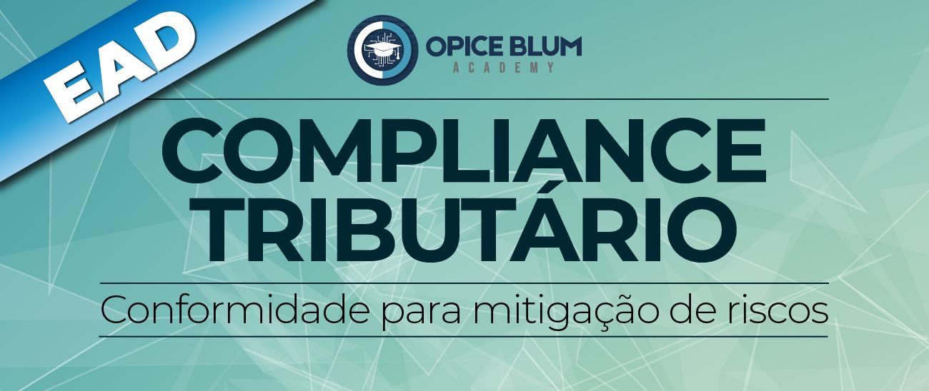 Compliance Tributário: conformidade para mitigação de riscos - EAD