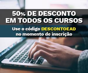 50% DE DESCONTO use o código DESCONTOEAD