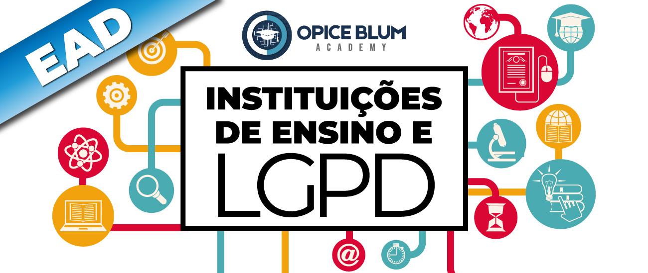 Instituições de ensino e LGPD