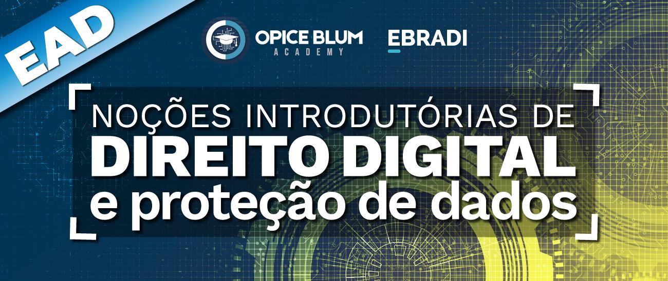 Noções introdutórias de Direito Digital e Proteção de Dados