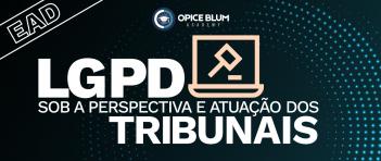 LGPD sob a perspectiva e atuação dos tribunais